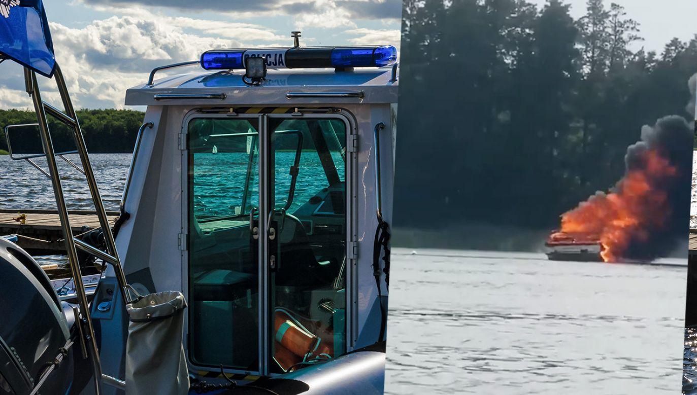 Do pożaru motorówki doszło przy południowym krańcu Jezioraka (fot. Shutterstock; Facebook)