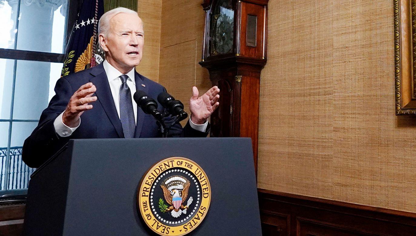Joe Biden (fot. PAP/EPA/Andrew Harnik / POOL)