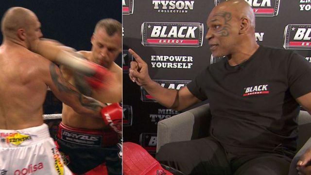 Mike Tyson o faulu Briedisa na Głowackim: zrobiłbym to samo