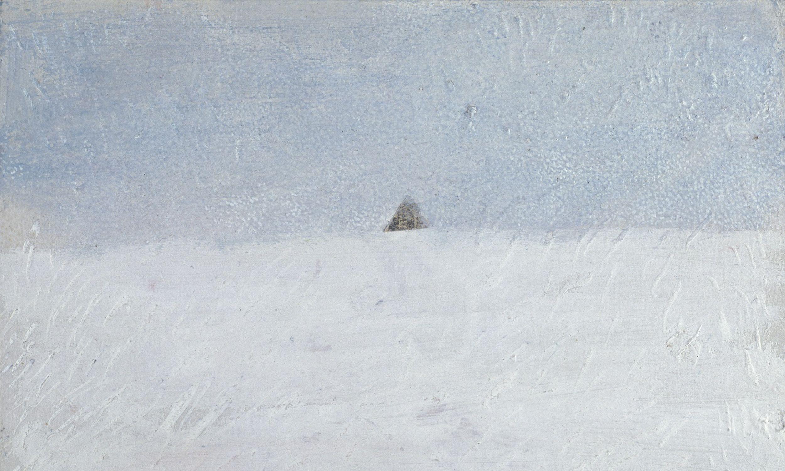 Wspomnienie spotkania z górą.  Fot. Zachęta - Narodowa Galeria Sztuki
