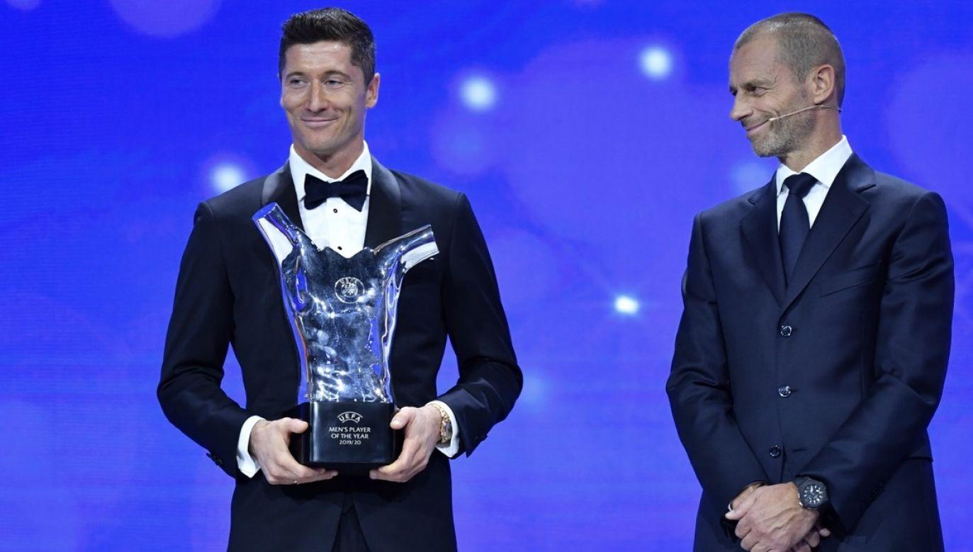 Robert Lewandowski wygrał w minionym sezonie wszystko, co było do wygrania (fot. PAP/EPA/Harold Cunningham - UEFA)