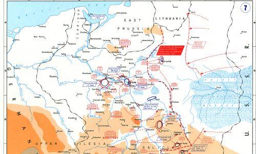 Uderzenie Armii Czerwonej na Polskę 17 września 1939. Fot. Wikimedia/Department of History, United States Military Academy