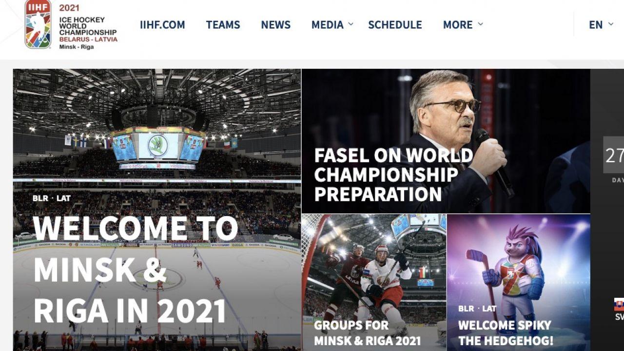 O przyznaniu Mińskowi praw do organizacji mistrzostw zdecydował IIHF (fot. IIHF)