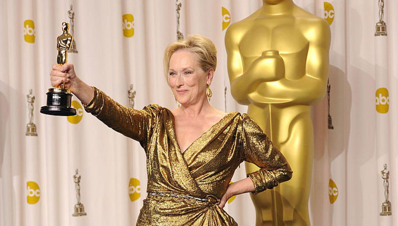 Streep sięgała po Oscara trzy razy (fot. Getty Images/Jason Merritt)