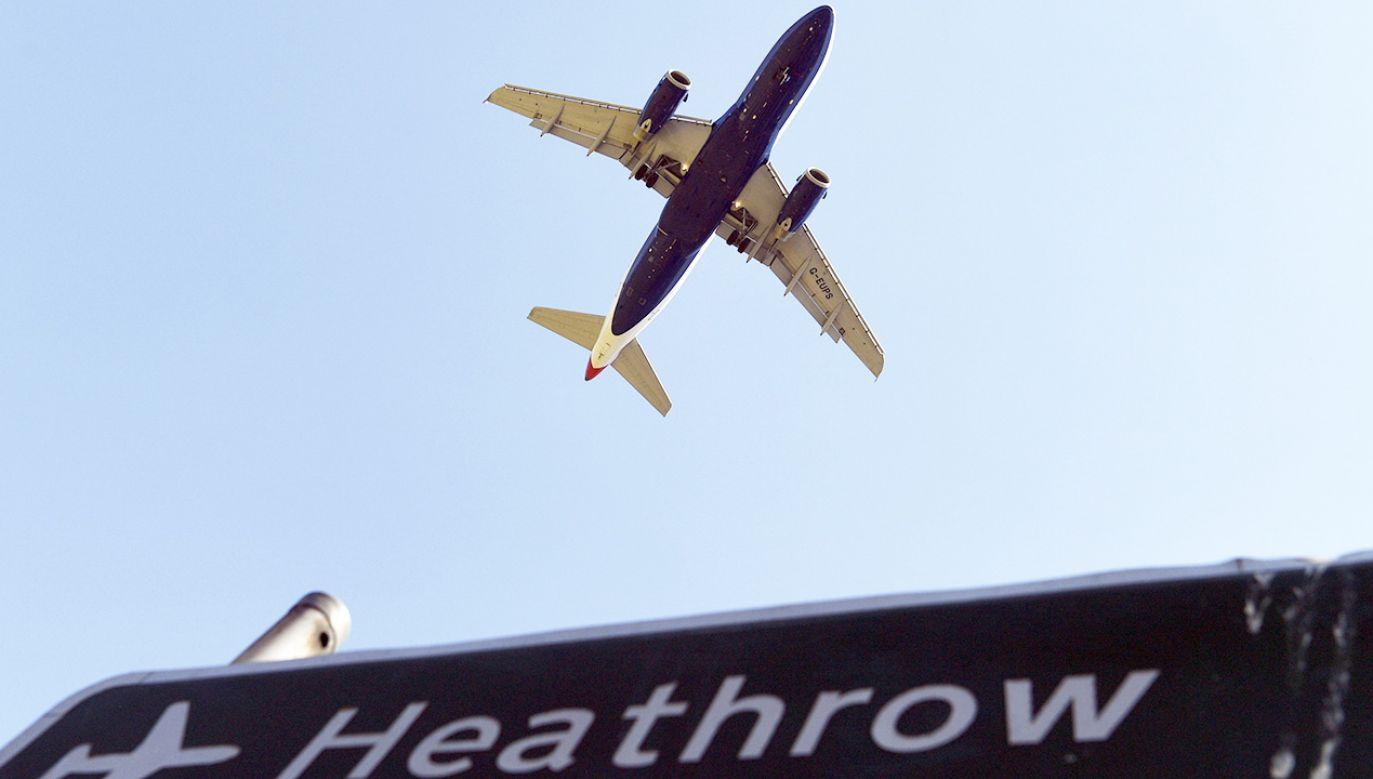 Sprawa rozbudowy Heathrow ciągnie się od wielu lat (fot. PAP/EPA/ANDY RAIN)