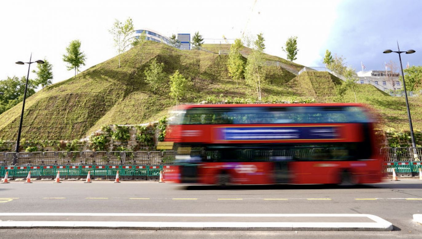 Kopiec Marble Arch Mound w Londynie(fot. Dominic Lipinski/PA Images/Getty Images)