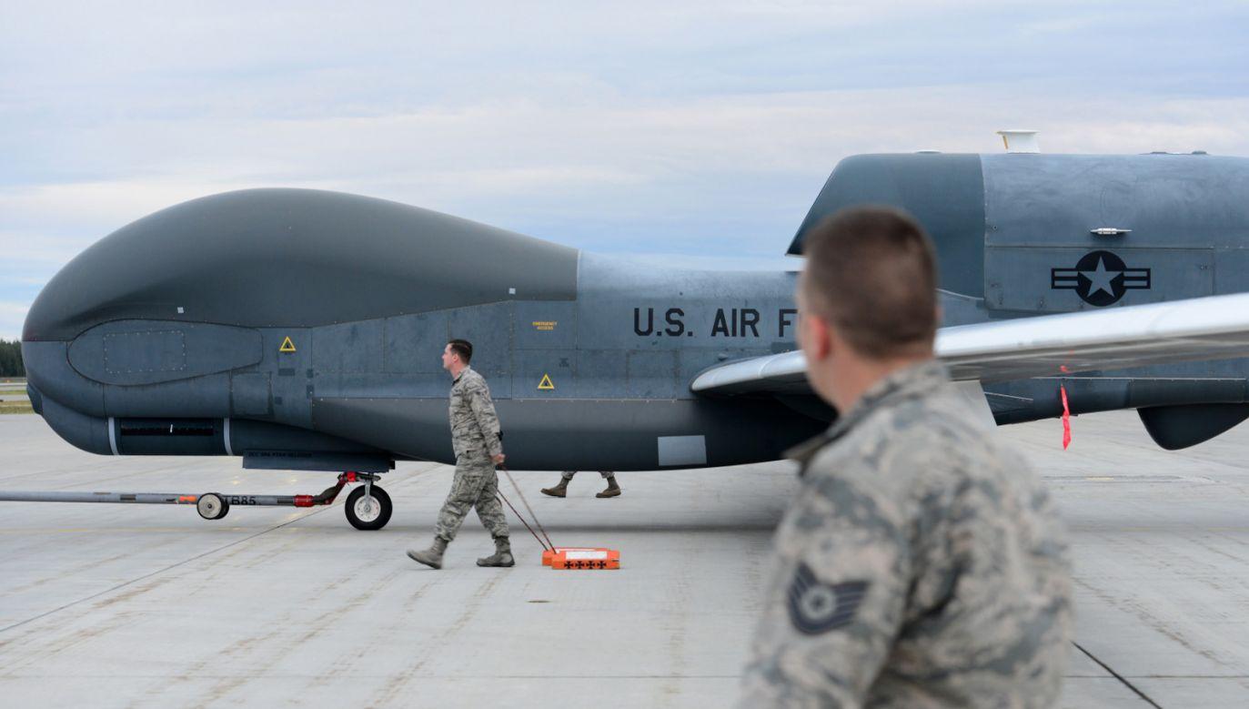 Waszyngton zaprzecza, by ich dron naruszył irańską przestrzeń powietrzną (PAP/EPA/Airman 1st Class Tristan Viglian/DIVIDS/HANDOUT)