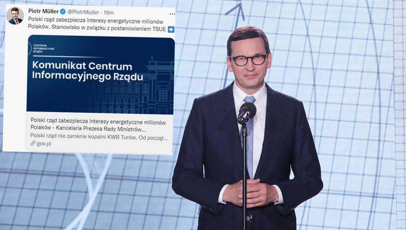 Rząd podkreśla, że elektrownia Turów odpowiada za nawet 7 proc. krajowej produkcji energii (fot. PAP/Wojciech Olkuśnik)