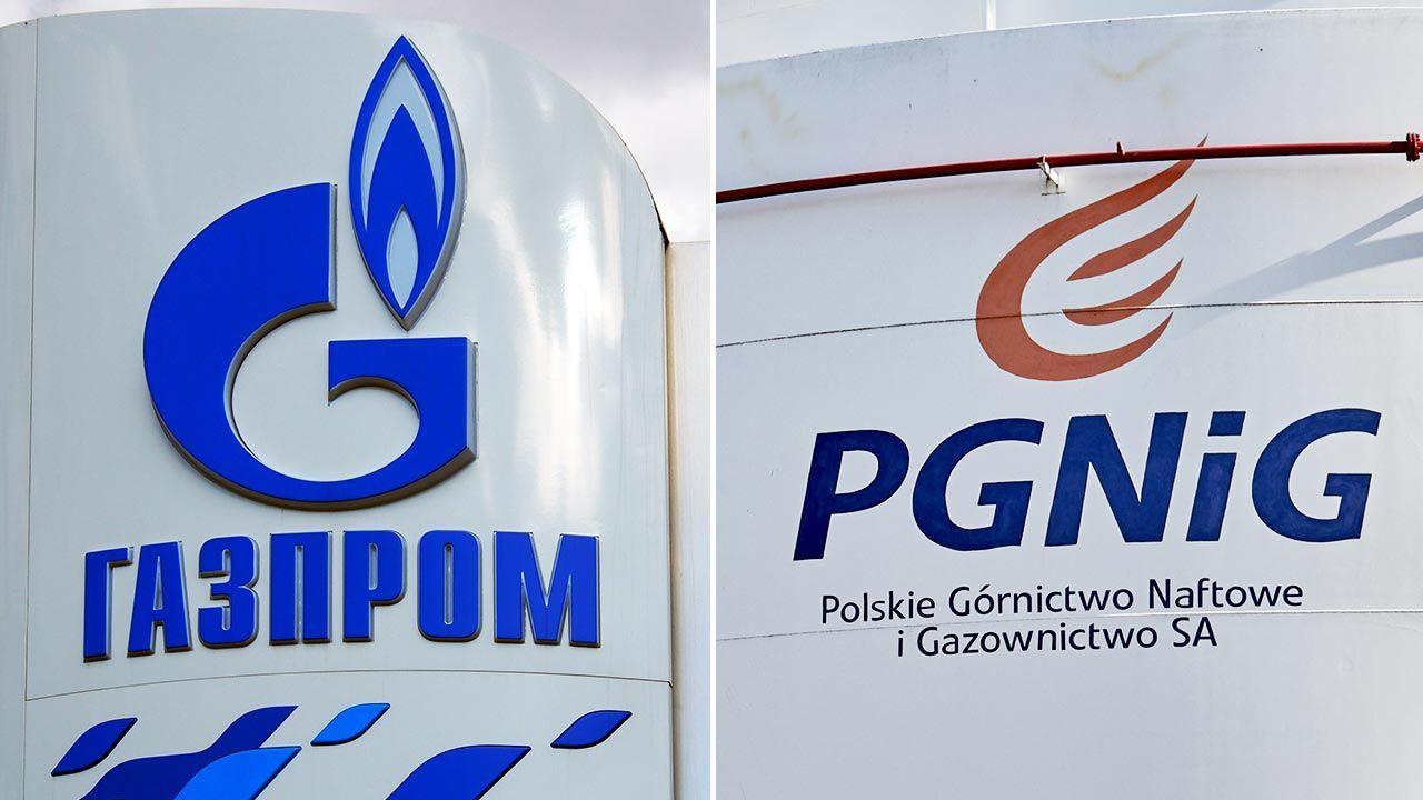 Spór między Gazpromem a PGNiG trwał kilka lat (fot. Shutterstock/ IgorGolovniov; Bartek Sadowski/Bloomberg via Getty Images)