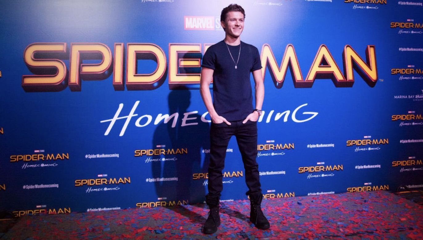 Tom Holland (fot. Ore Huiying/Getty Images for Sony Pictures)