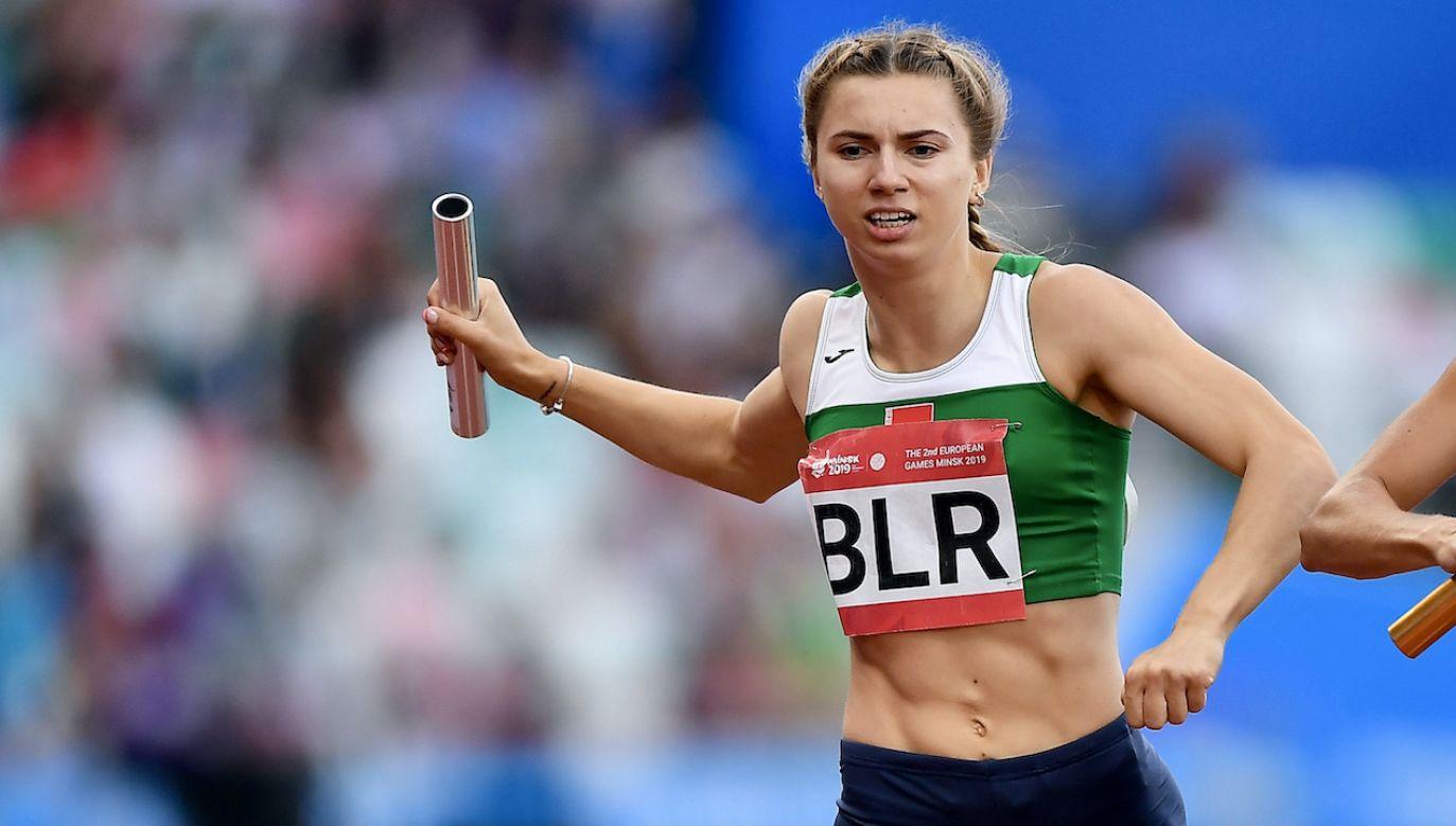 Kryscina Cimanouska (fot. Seb Daly/Sportsfile via Getty Images)