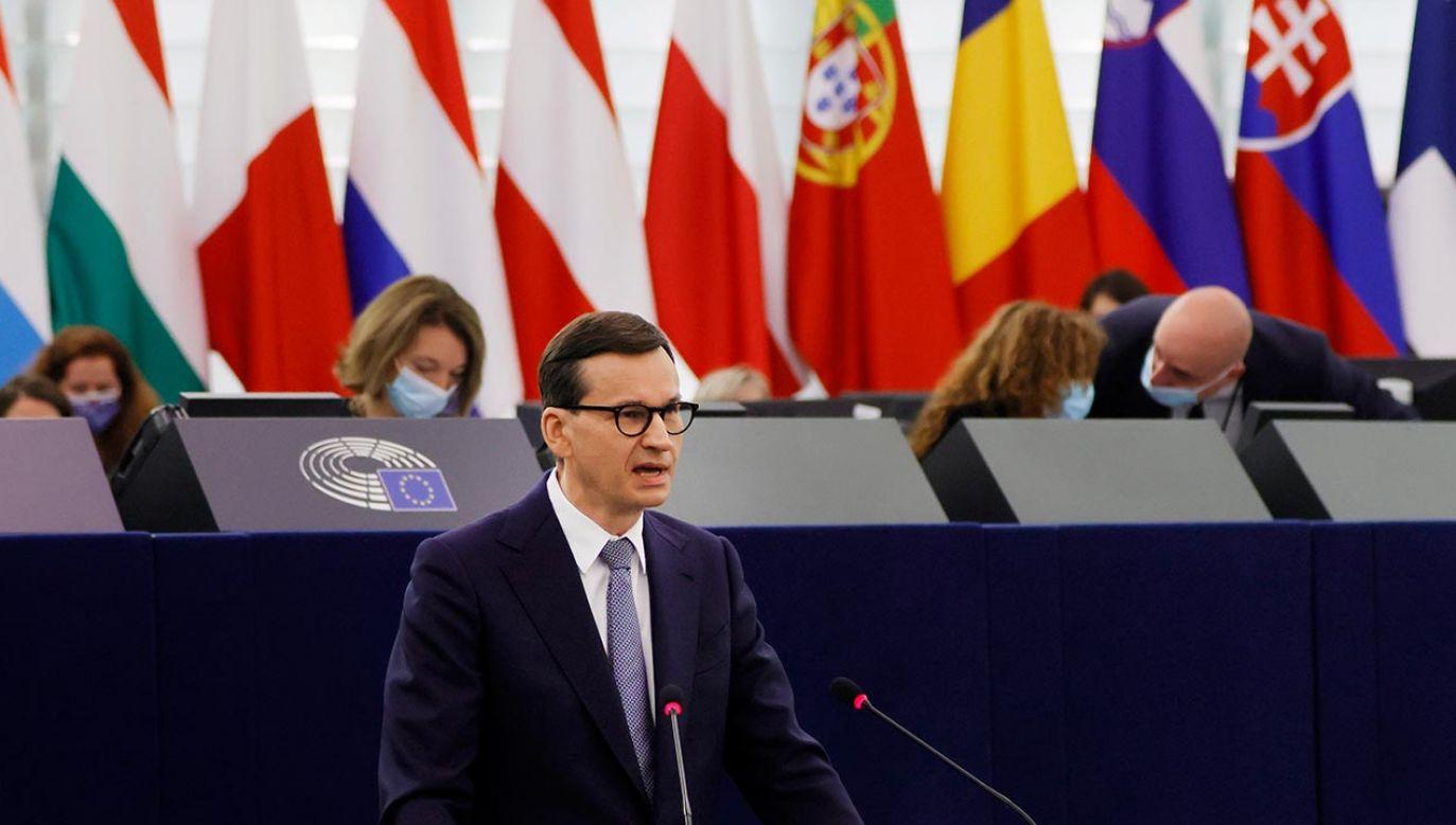 Mateusz Morawiecki (fot.PAP/EPA/RONALD WITTEK / POOL)
