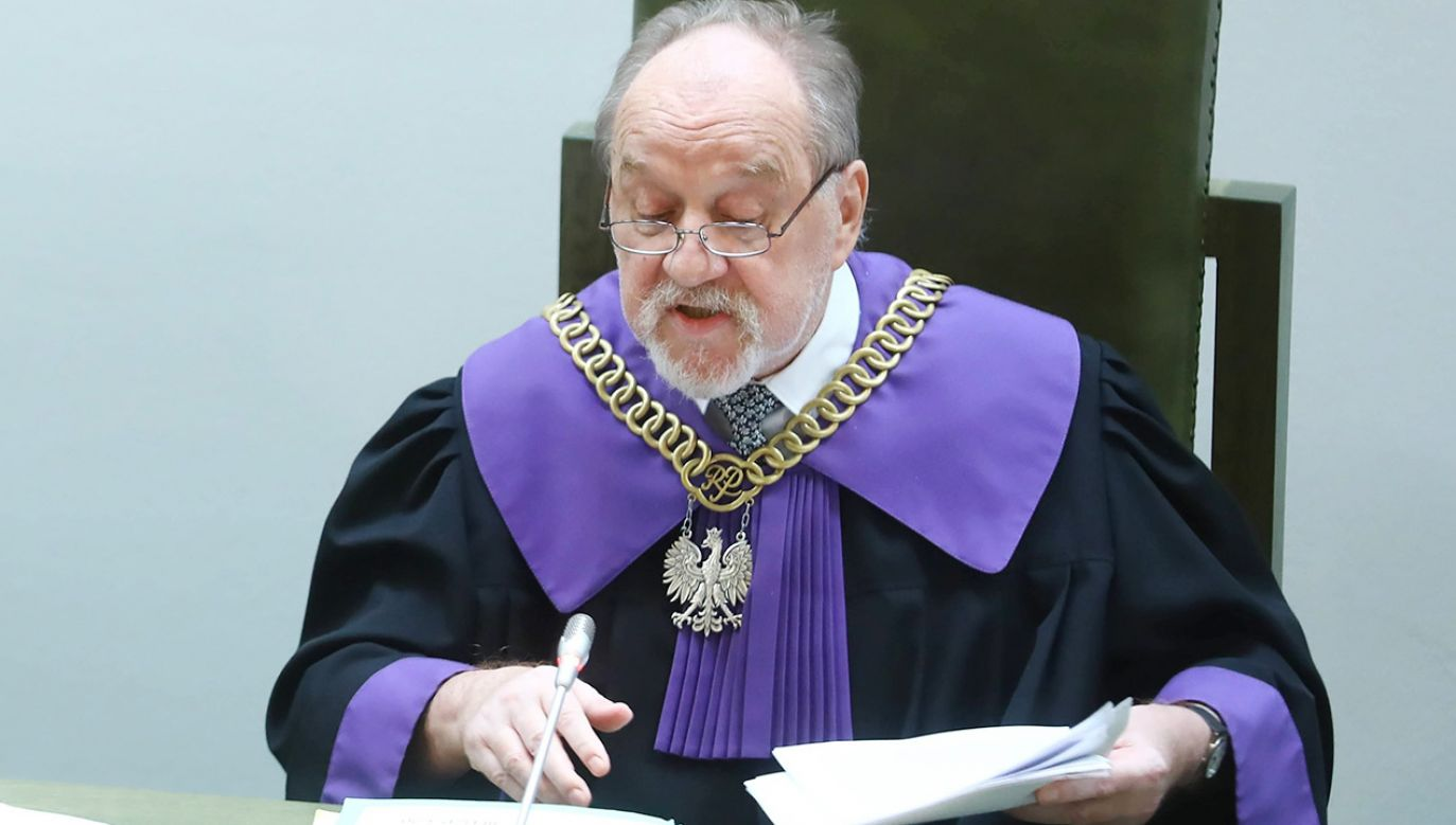 Sędzia Józef Iwulski (fot. arch. PAP/Rafał Guz)