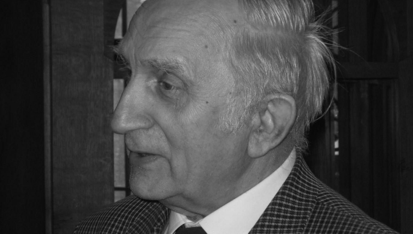 Prof. Jan Tajchman w 1953 rok ukończył studia na Wydziale Architektury Politechniki Poznańskiej (fot. Facebook/Stowarzyszenie Konserwatorów Zabytków Zarząd Główny)