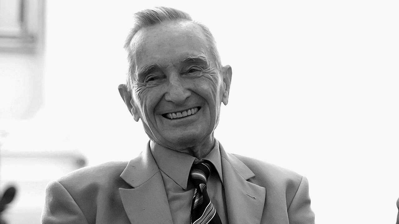 Prof. Henryk Samsonowicz miał 91 lat (fot. UW)