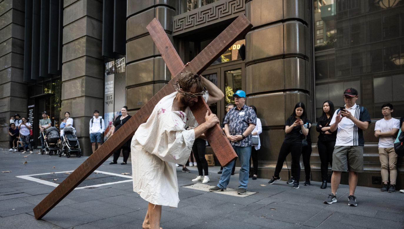 W Australii przygotowania do Wielkanocy rozpoczynają się już w Niedzielę Palmową (fot.PAP/EPA)