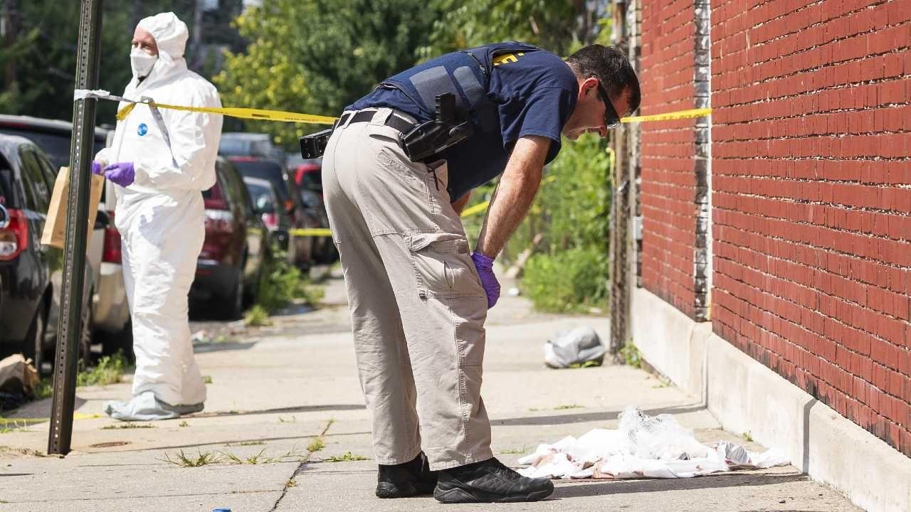 USA zmagają się z falą przemocy (fot. PAP/EPA/JUSTIN LANE)