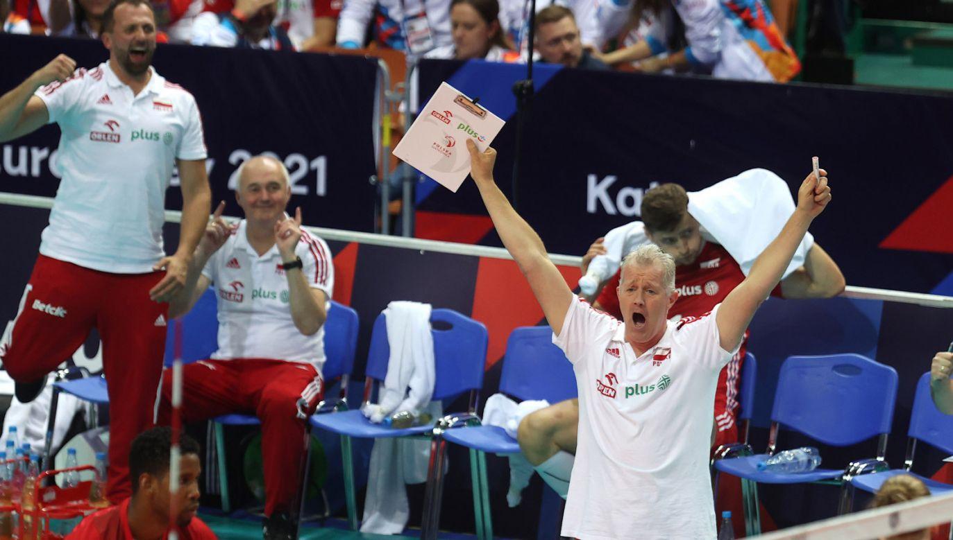 Trener Vital Heynen (fot. PAP/A.Grygiel)