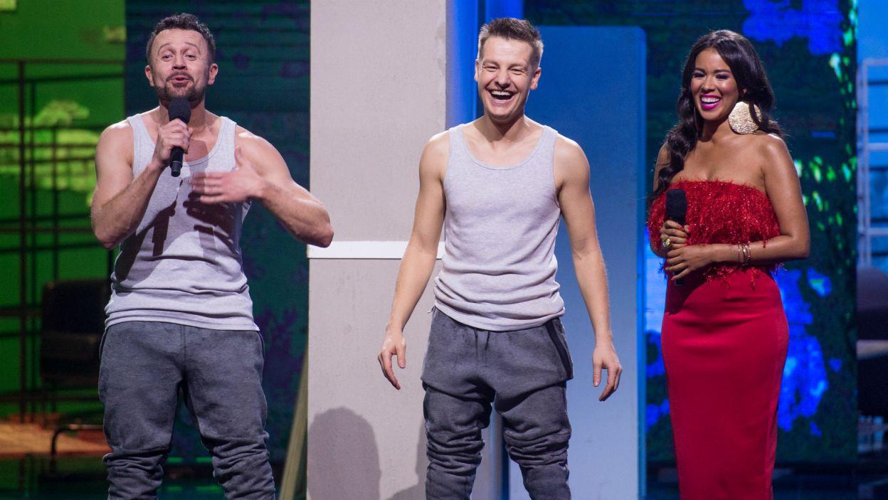 – To było męskie tańczenie – ocenił Robert Kupisz, który docenił też bardzo dobrą synchronizację (fot. J. Bogacz/TVP)