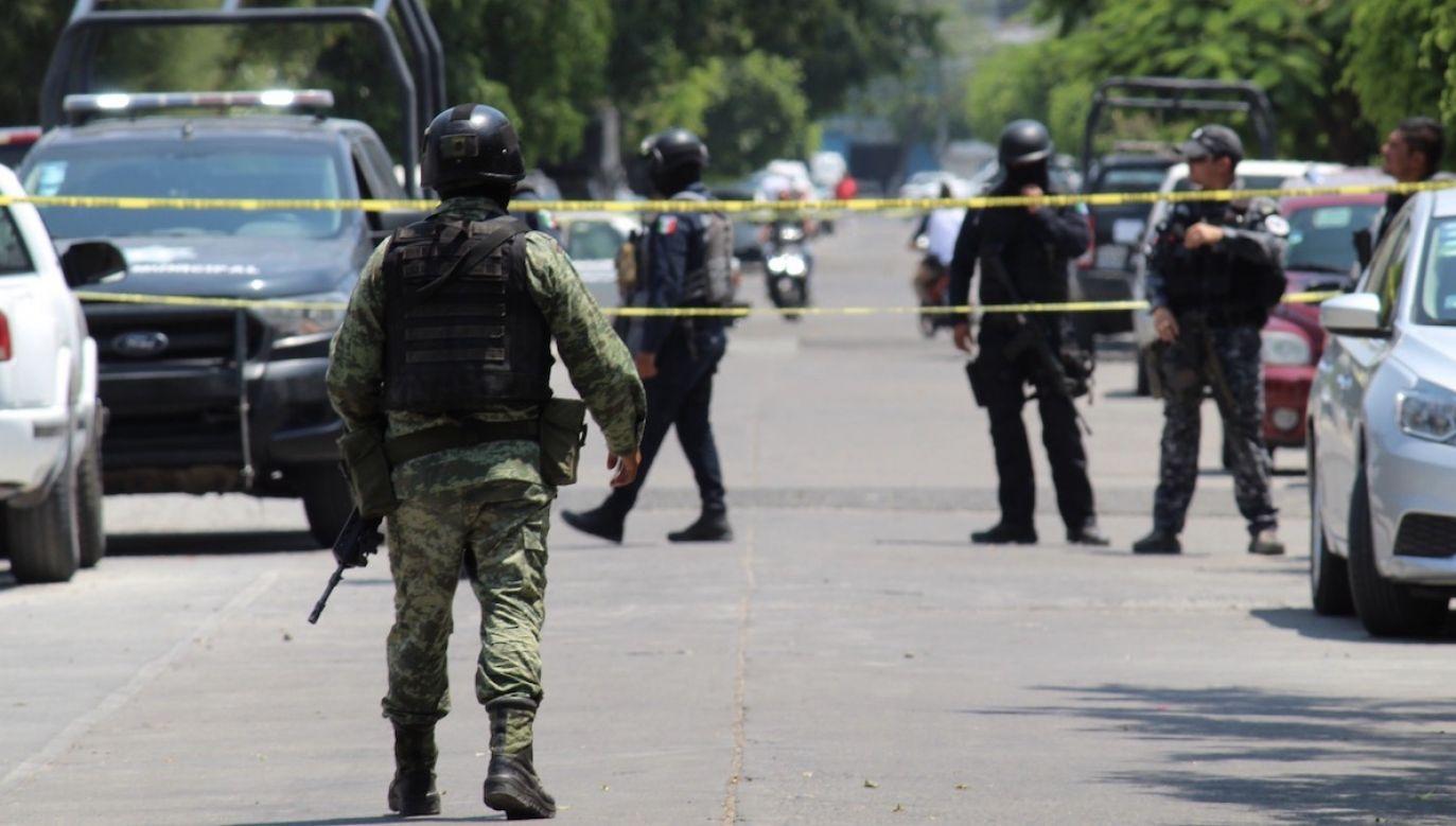 Funkcjonariusze zostali porwani w zeszłym tygodniu (fot. PAP/EPA/STR)