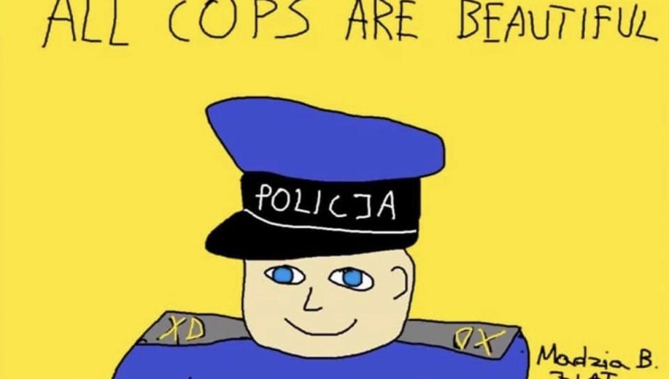 Policjanci zapewnili, że powiadomią, kiedy będzie można wrócić do przestępczej działalności (fot. policja polska)