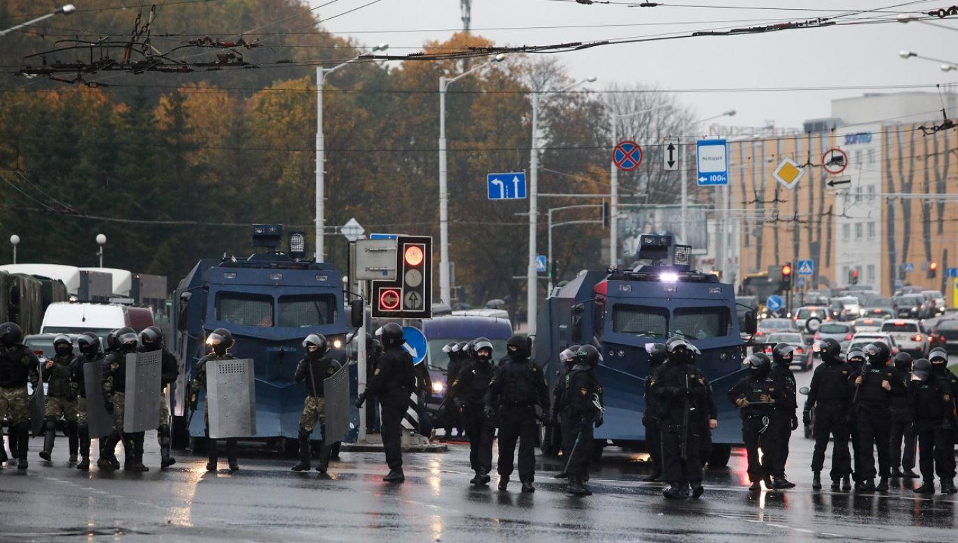 Niedziela jest 71. dniem protestów (fot. Reuters/Handout)