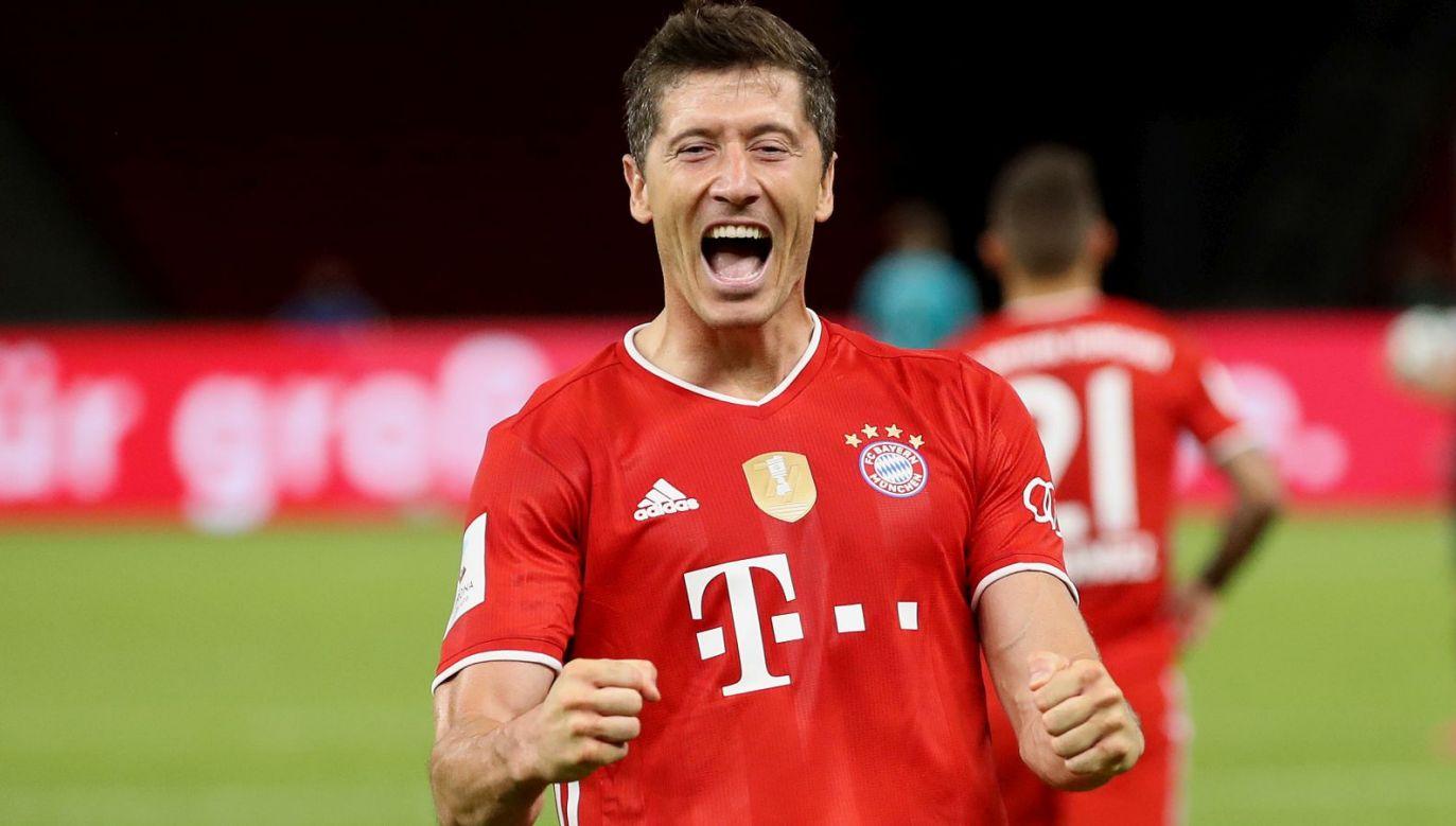 Robert Lewandowski po raz pierwszy w karierze przekroczył barierę 50 goli w klubie (fot. Getty Images)