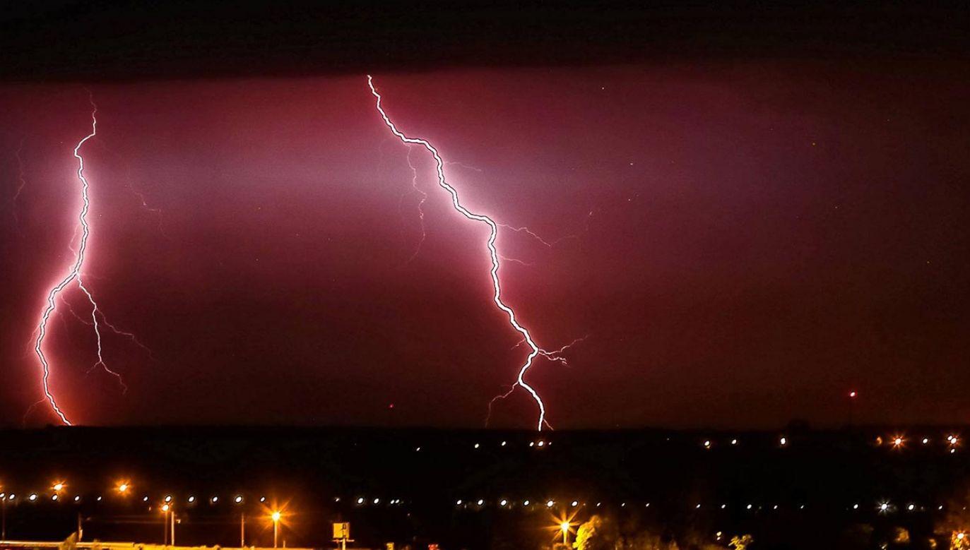 Prognoza pogody na wtorkowe popołudnie (fot. PAP/Piotr Augustyniaki)