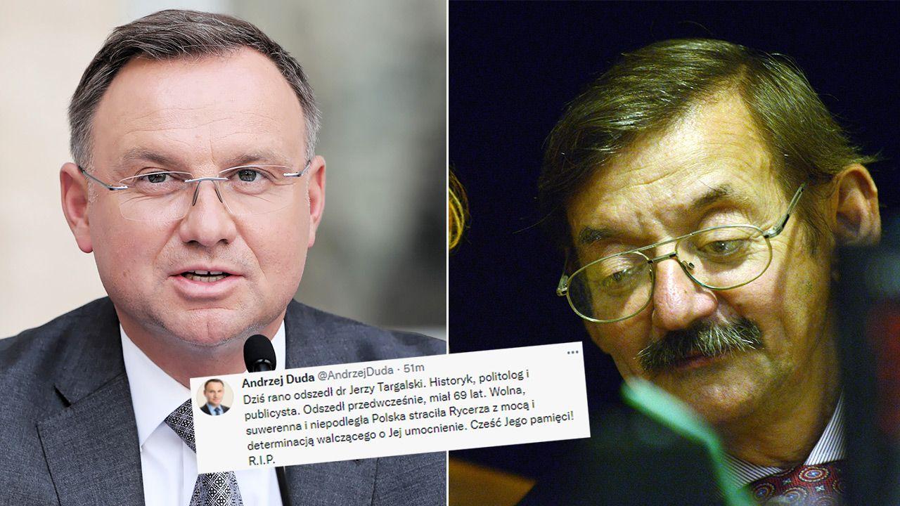 Jerzy Targalski urodził się 28 lipca 1952 r. (fot. PAP/Wojciech Olkuśnik, Andrzej Rybczyński)