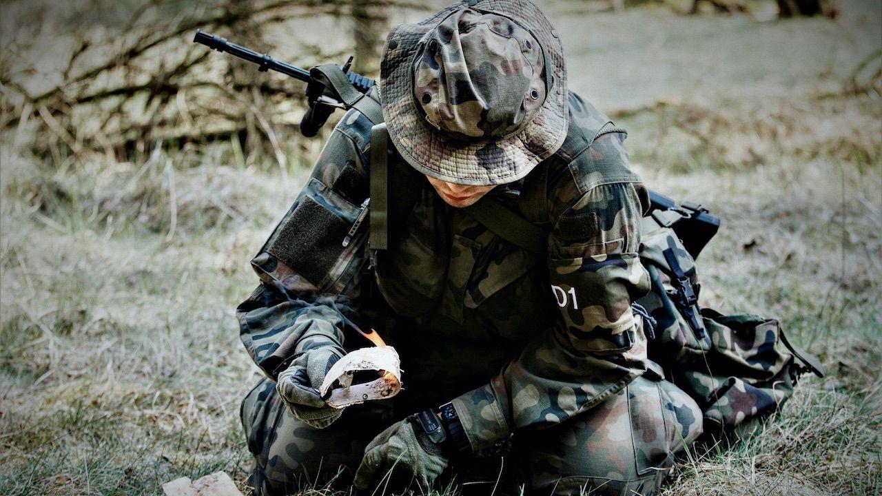 W programie kursu wykorzystano doświadczenia żołnierzy z misji zagranicznych (fot. WOT)