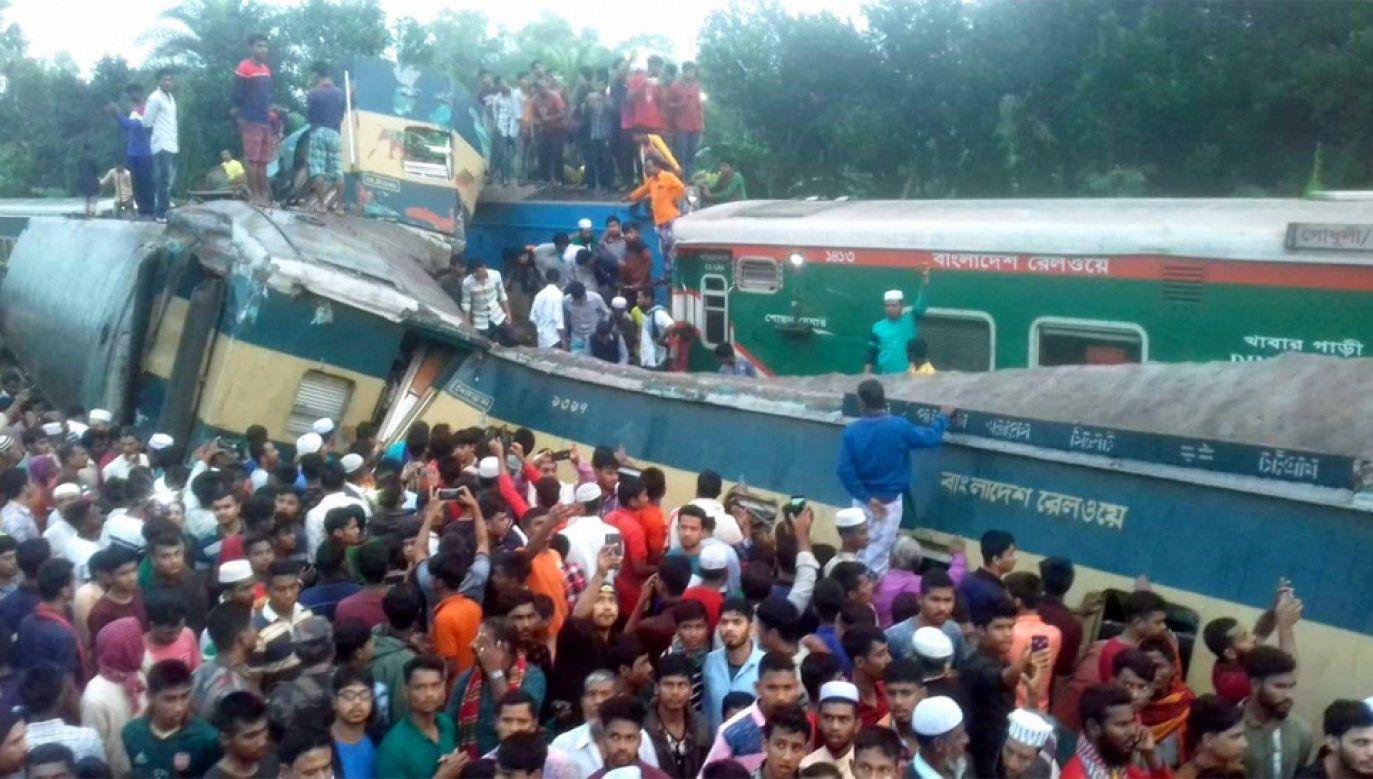 Katastrofa zaskoczyła większość pasażerów we śnie (fot. TT/Mahfuz Sadique)