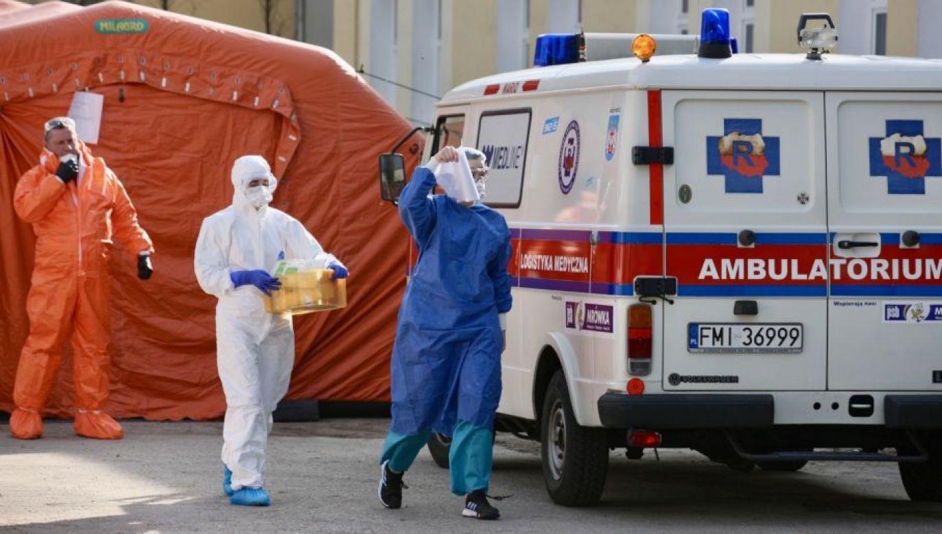 Świat zmaga się z epidemią koronawirusa (fot.PAP/Lech Muszyński)