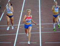 Rosjanka Irina Dawidowa wygrała bieg na 400 m przez płotki (fot. Getty Images)
