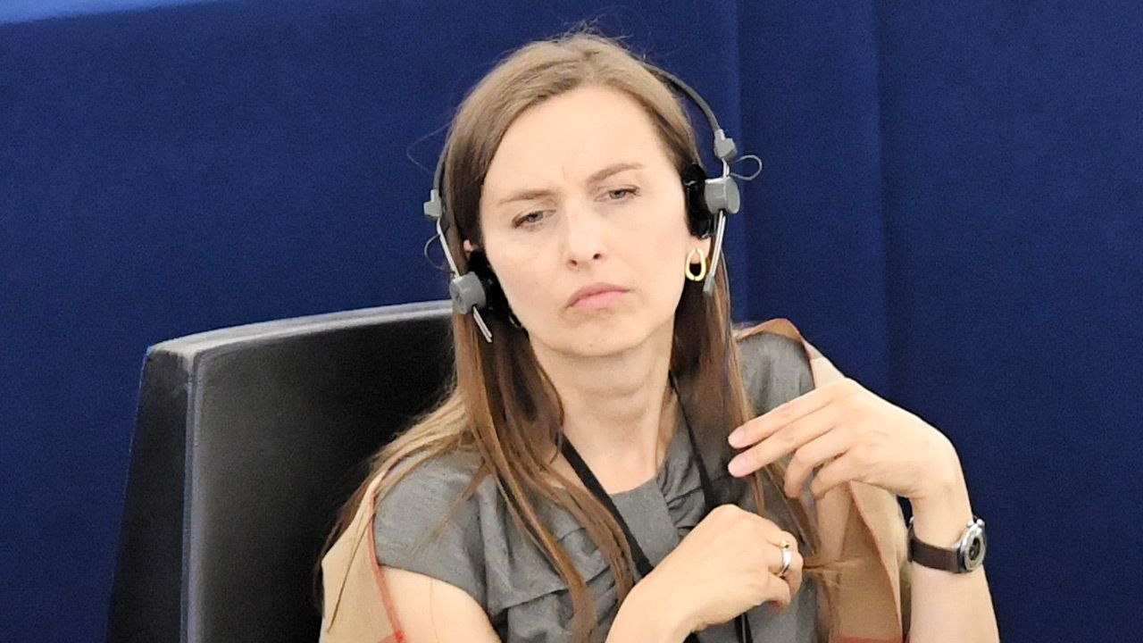 Europosłanka Sylwia Spurek (fot. PAP/Radek Pietruszka)