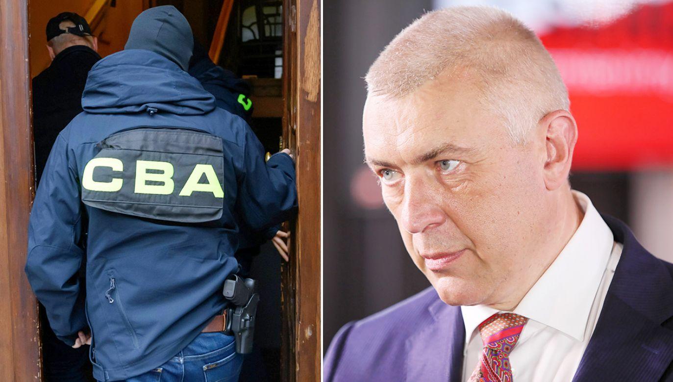 Giertych został zatrzymany przez CBA w połowie października (fot. arch. PAP/Leszek Szymański; Jakub Kaczmarczyk)