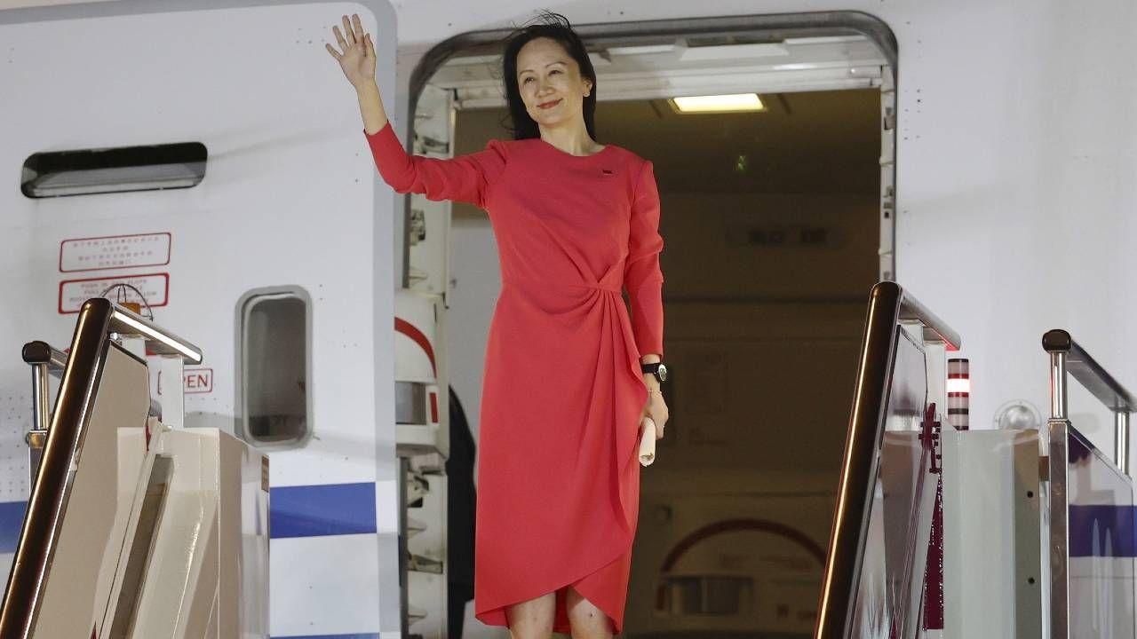Wiceprezes Huawei Meng Wanzhou wróciła do Chin (fot. PAP/EPA/JIN LIWANG)