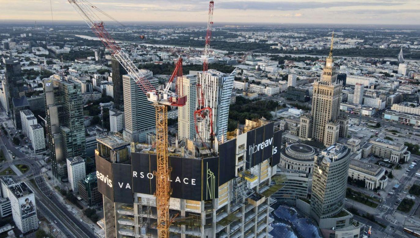 Według Deloitte całkowita wartość rynkowa europejskich firm budowlanych wzrosła o 33 proc.  (fot. Jaap Arriens/NurPhoto via Getty Images)