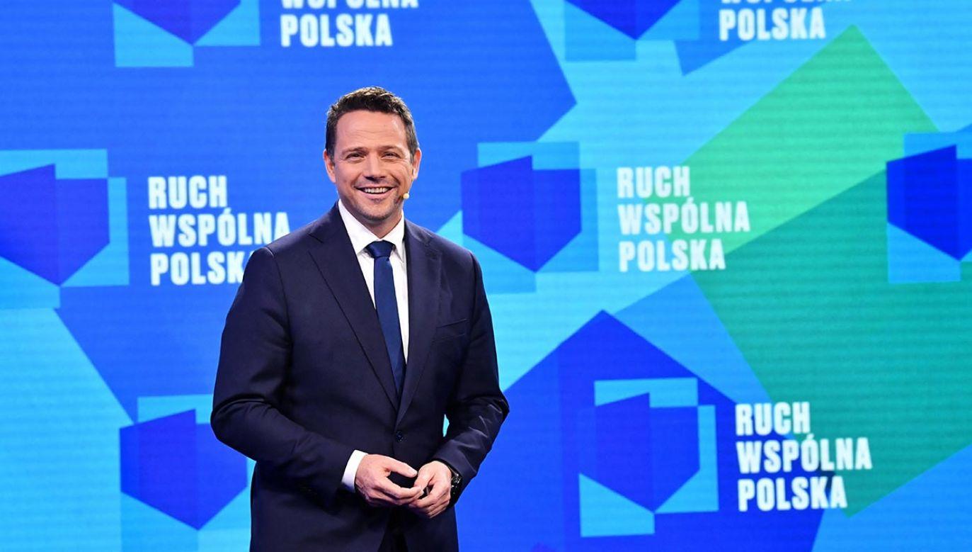 Prezydent Warszawy Rafał Trzaskowski proponuje wspólne listy opozycji w wyborach parlamentarnych (fot. PAP/Radek Pietruszka)