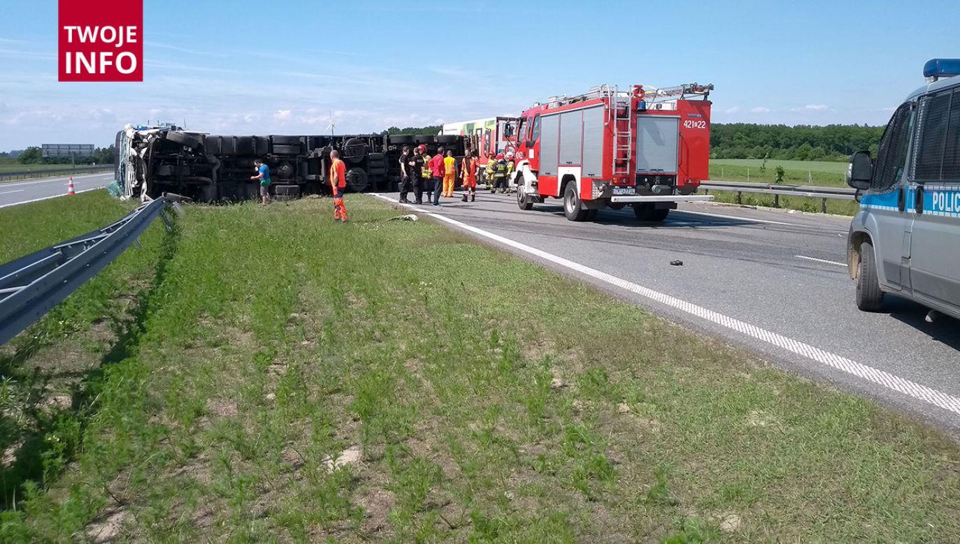 Na miejsce przyjechała straż pożarna i policja (fot. Twoje INFO)