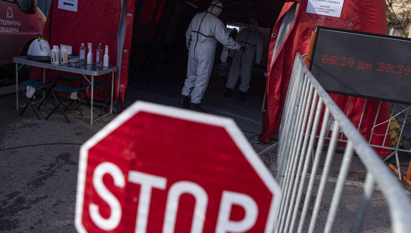 Nadzwyczajna sytuacja epidemiczna w Bułgarii zostaje przedłużona do 30 kwietnia (fot. arch. PAP/EPA/VASSIL DONEV)