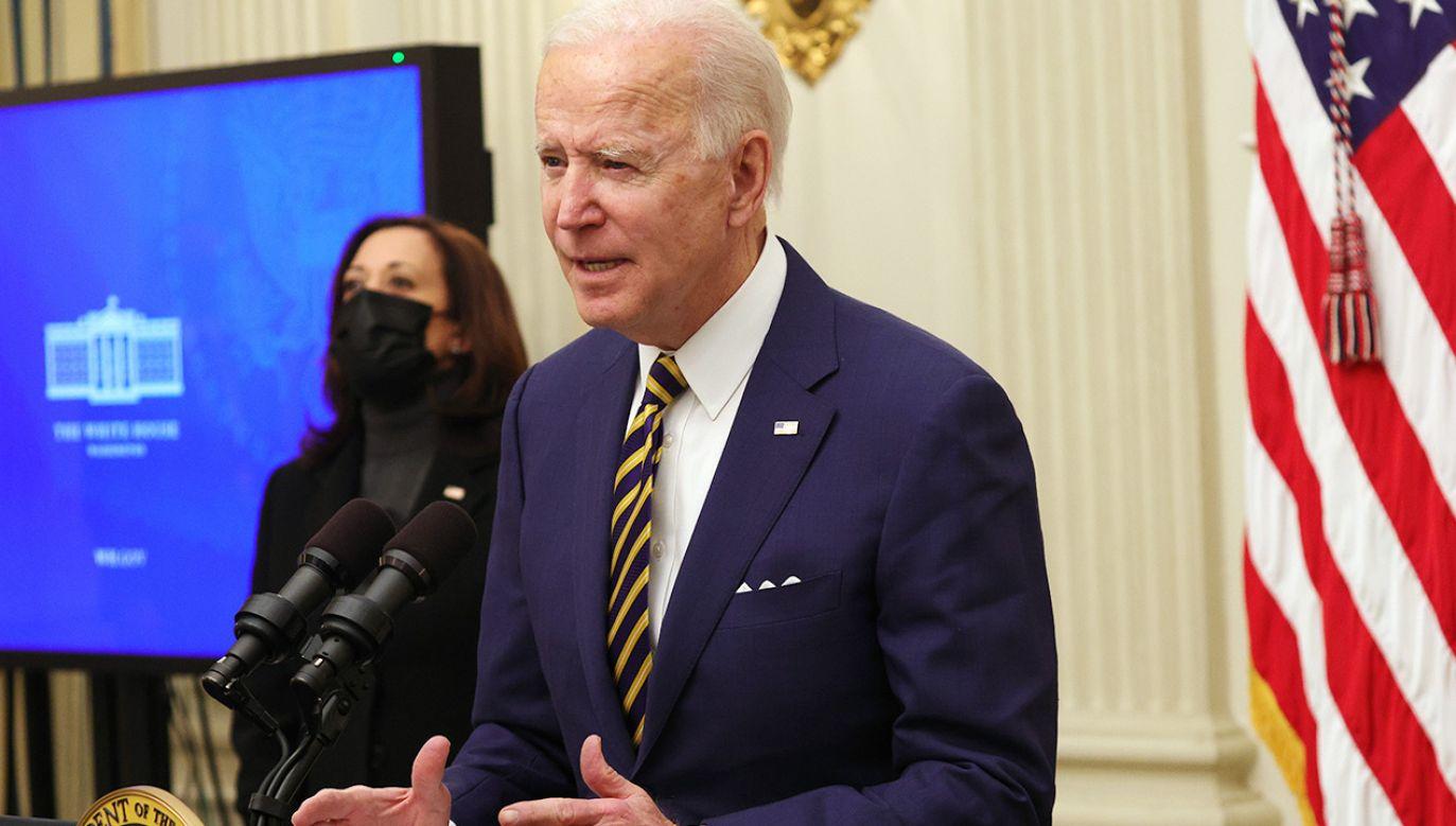 Joe Biden obawia sięwewnętrznych aktów terrorów (fot. Alex Wong/Getty Images)