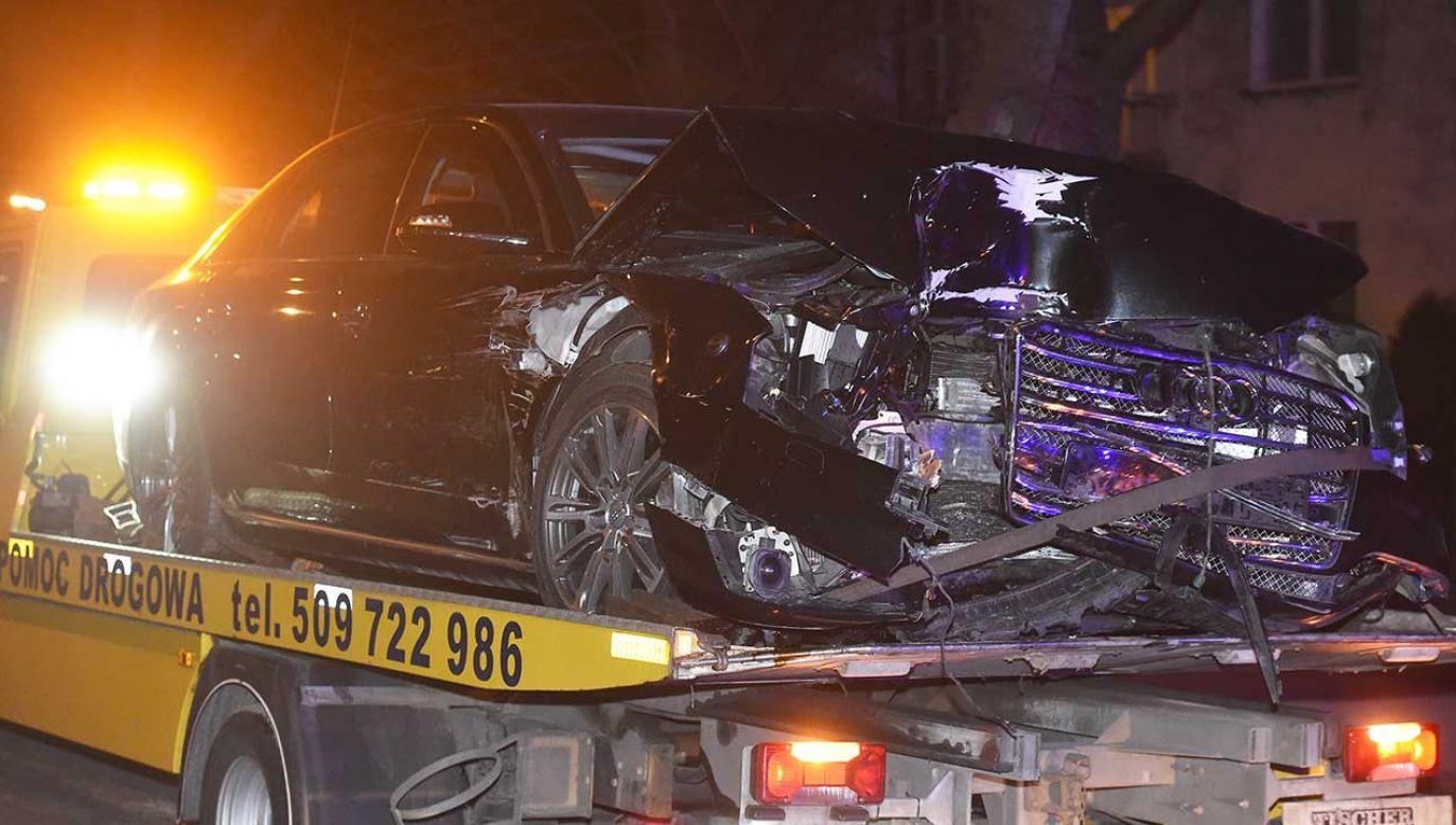 Do wypadku doszło 10 lutego 2017 r. w Oświęcimiu (fot. arch. PAP/Jacek Bednarczyk)
