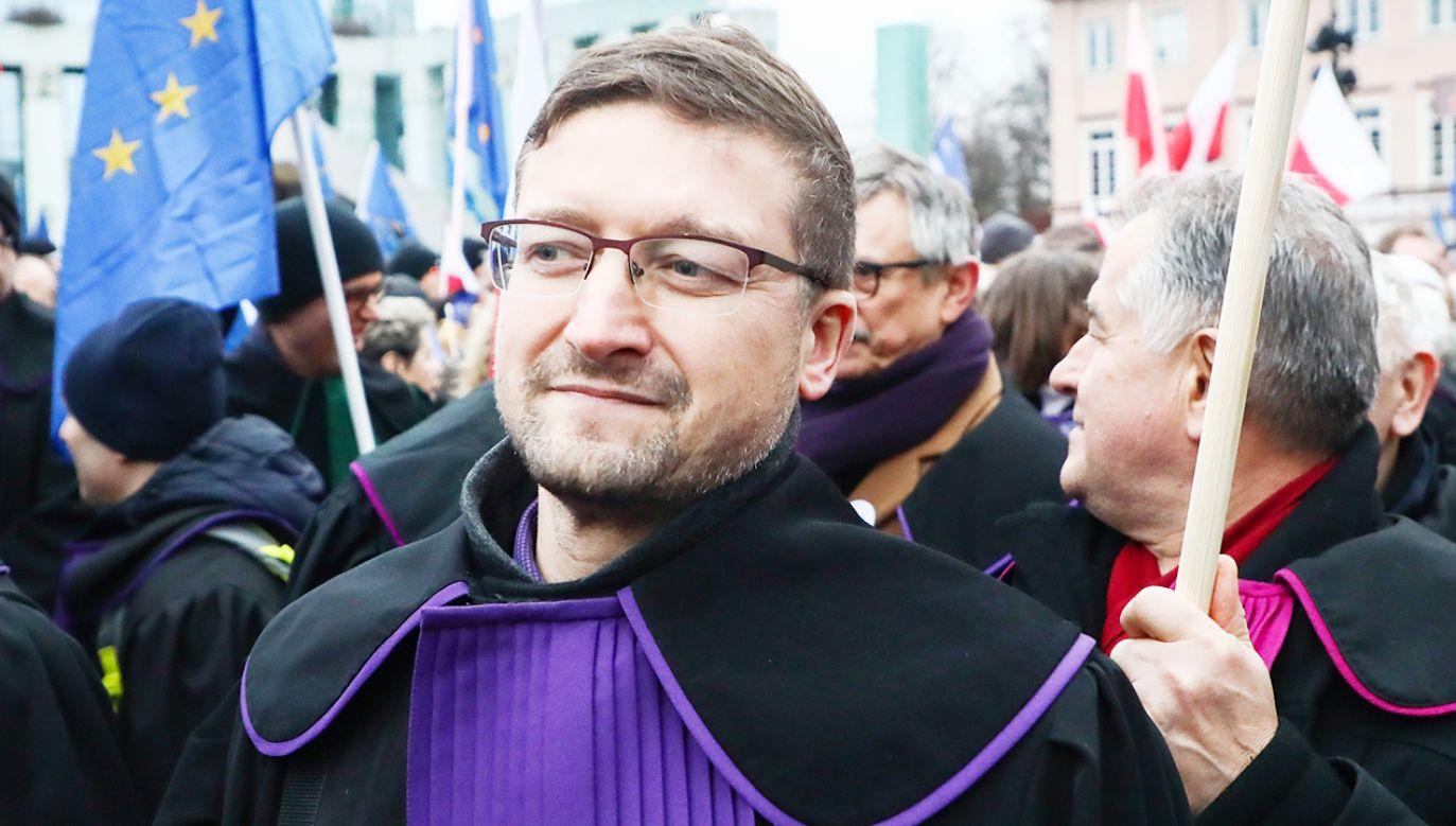 Sędzia PawełJuszczyszyn może wrócićdo pracy (fot. Beata Zawrzel/NurPhoto via Getty Images)