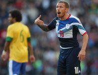 Craig Bellamy to najbardziej doświadczony obok Ryana Giggsa zawodnik Team GB (fot. Getty Images)