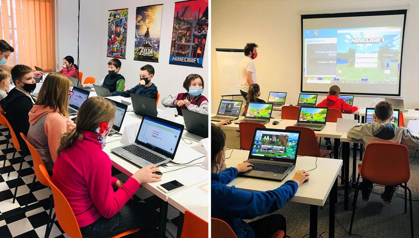 """Organizatorem warsztatów jest międzynarodowa szkoła """"Giganci Programowania"""" (fot. Giganci Programowania)"""