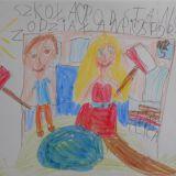 Obchody 11 listopada w szkole,Agatka Gwiżdż, 7 lat