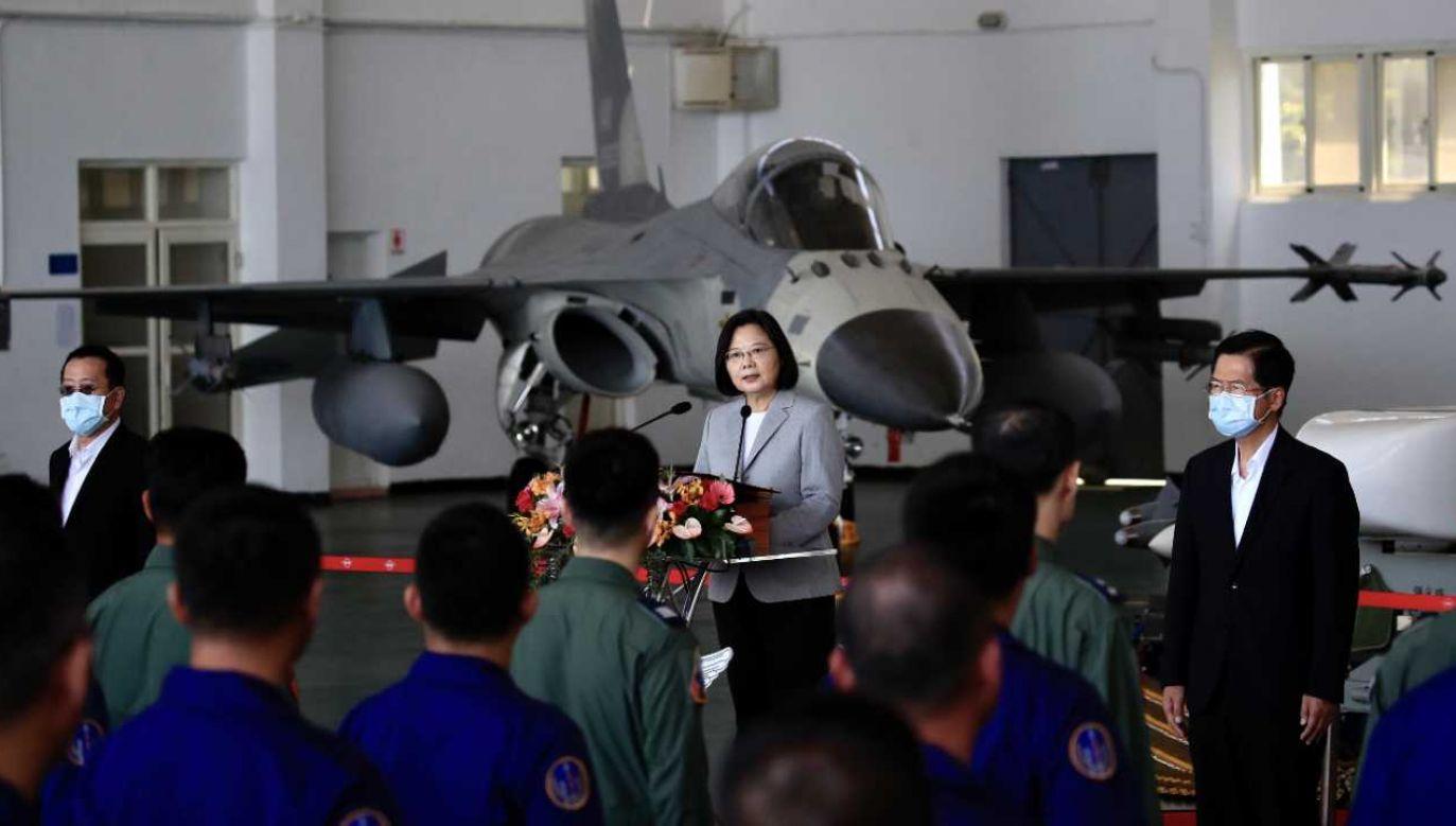Tajwan jest sojusznikiem USA (fot. PAP/EPA/RITCHIE B. TONGO)
