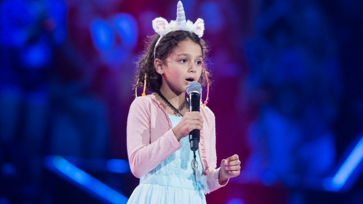 Maya po raz kolejny rozczuliła publiczność (fot. J. Bogacz/TVP)