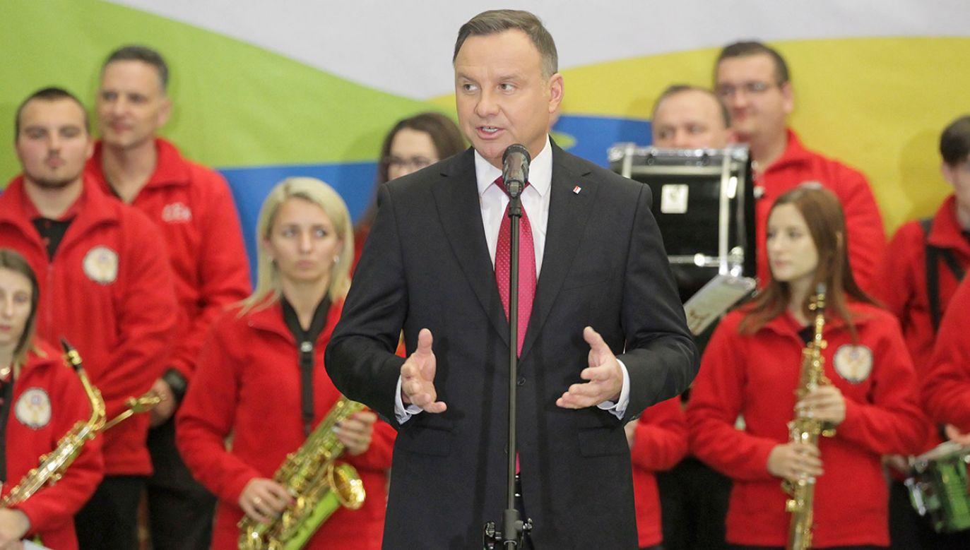 Prezydent Andrzej Duda obiecał dokończenie reformy wymiaru sprawiedliwości (fot. PAP/Tomasz Waszczuk)