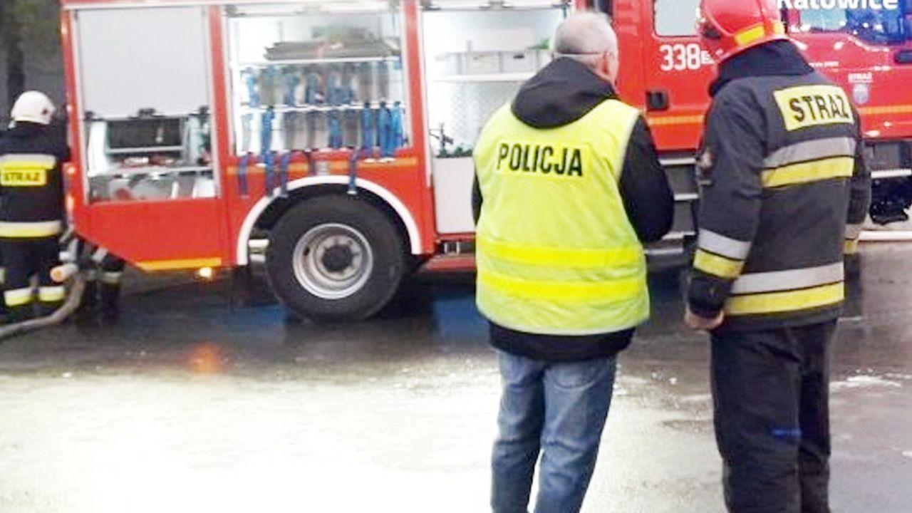 Wspólna akcja służb uratowała życie chorego mieszkańca Katowic (fot. Policja)